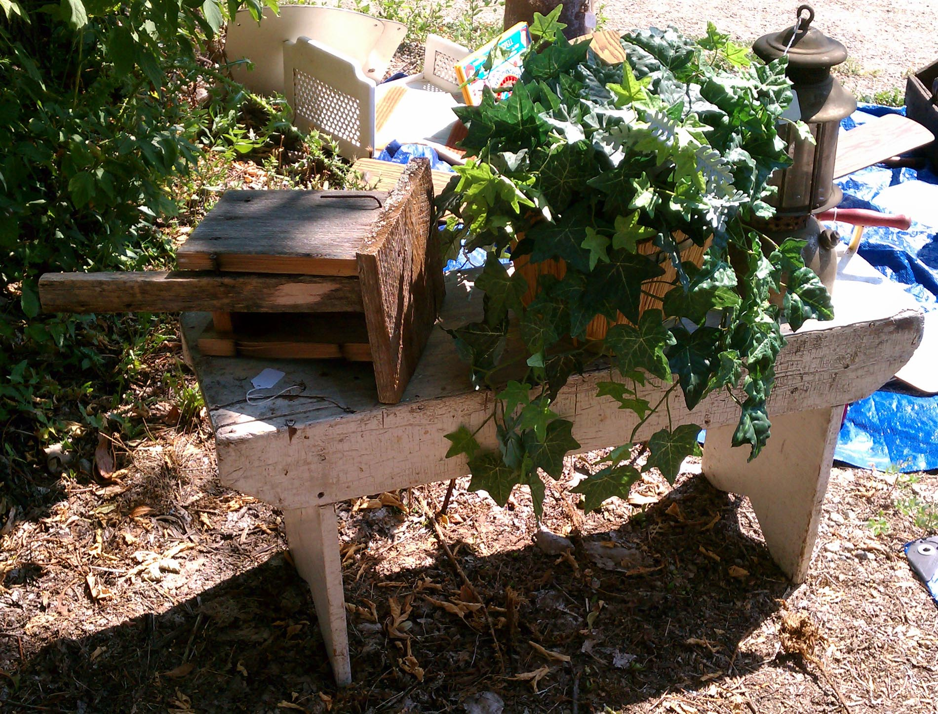 Awe Inspiring Old Primitive Garden Bench We Have Your Collectibles Home Gmtry Best Dining Table And Chair Ideas Images Gmtryco