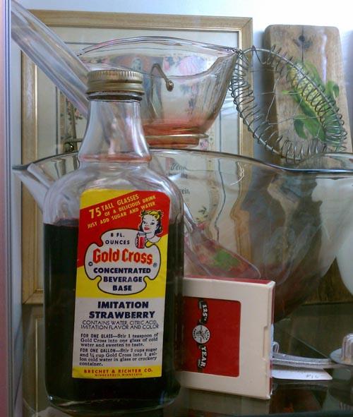 Vintage Flavoring Bottle