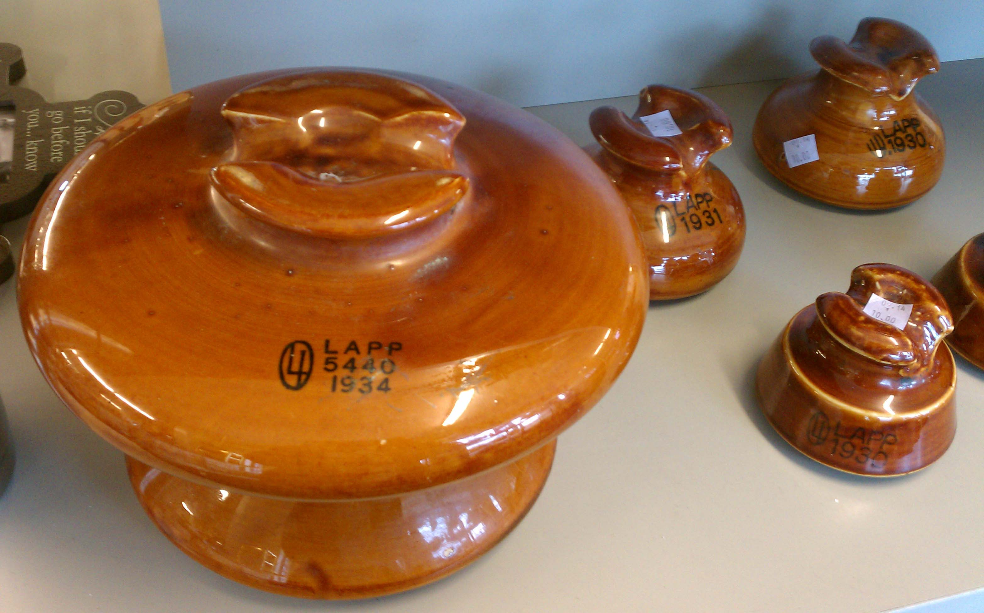 Vintage Ceramic Insulators – We Have Your Collectibles: Home