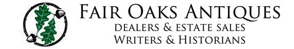We Have Your Collectibles: Home Of Fair Oaks Antiques