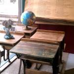 antique wooden school desks window fargo antiques on broadway