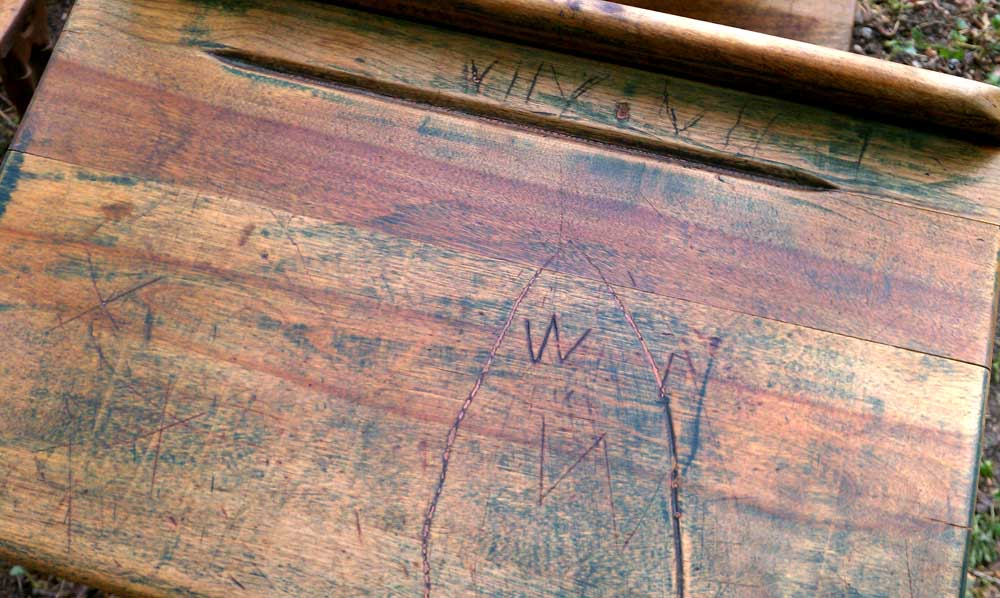 Antique School Desks: Back To Antiquing Basics (Or How To Clean
