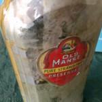old manse jar bottle before