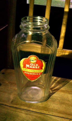 vintage Oelerich & Berry Co Old Manse bottle