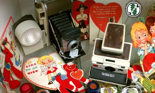vintage cameras and valentines for sale