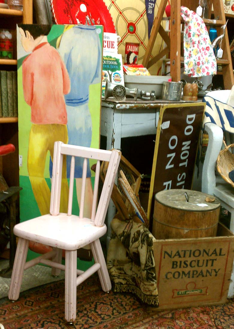 April Showers Bring Long May Hours For Antique Dealers!