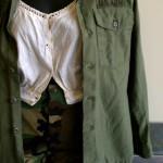 vintage military fatigues fashion