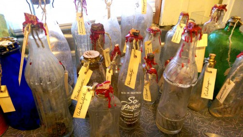 making spirit bottles