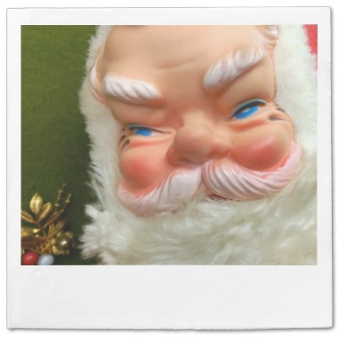 retro_rubber_faced_santa_polaroid_napkins