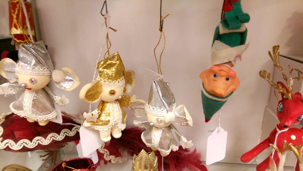 vintage kitschy christmas ornaments fair oaks antiques – We Have ...