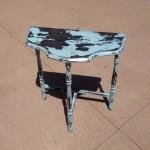 shabby little vintage table fair oaks antiques