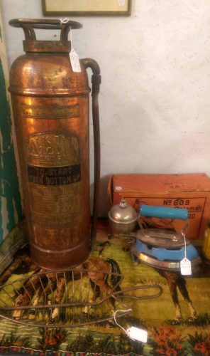 antique-copper-fire-extinguisher-blue-coleman-iron