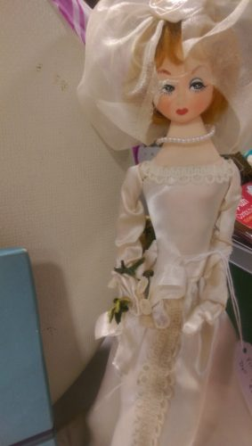 vintage bride doll fair oaks antiques