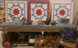 vintage-red-white-and-blue-star-quilt-blocks-and-antiques-in-fargo-moorhead