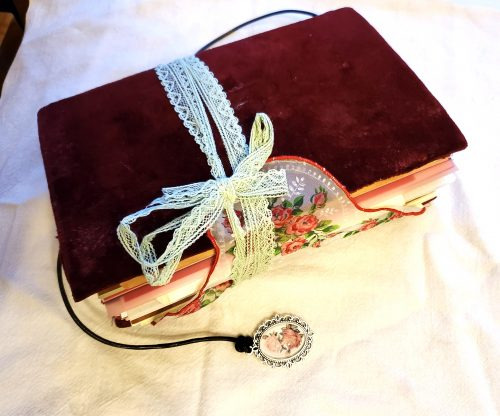 red velvet junk journal